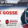 Renegades' Gosse Selected as Sportscraft Source...