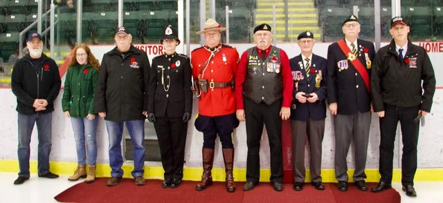 Remembrance Day Ceremony held at CBR