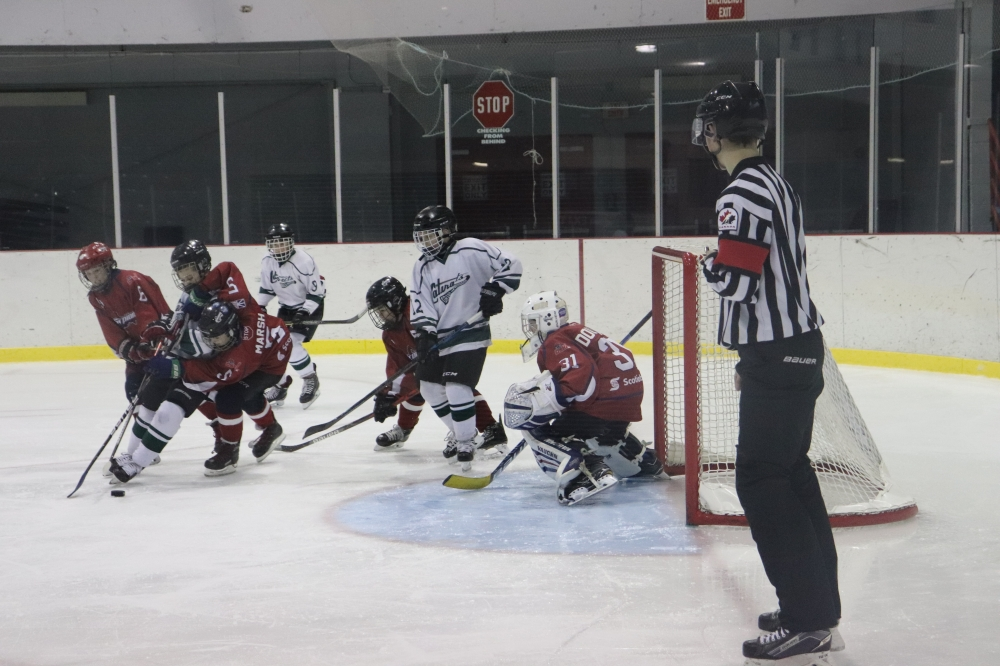 Peewee Cataracts Go Undefeated on Visit to DJHL