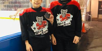 AA Bantam River Rats and AA Bantam League First Goal