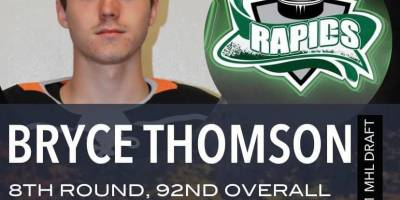 Bryce Thomson taken 92nd overall