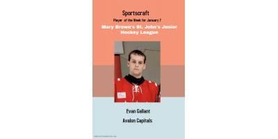 Sportscraft Player of the Week
