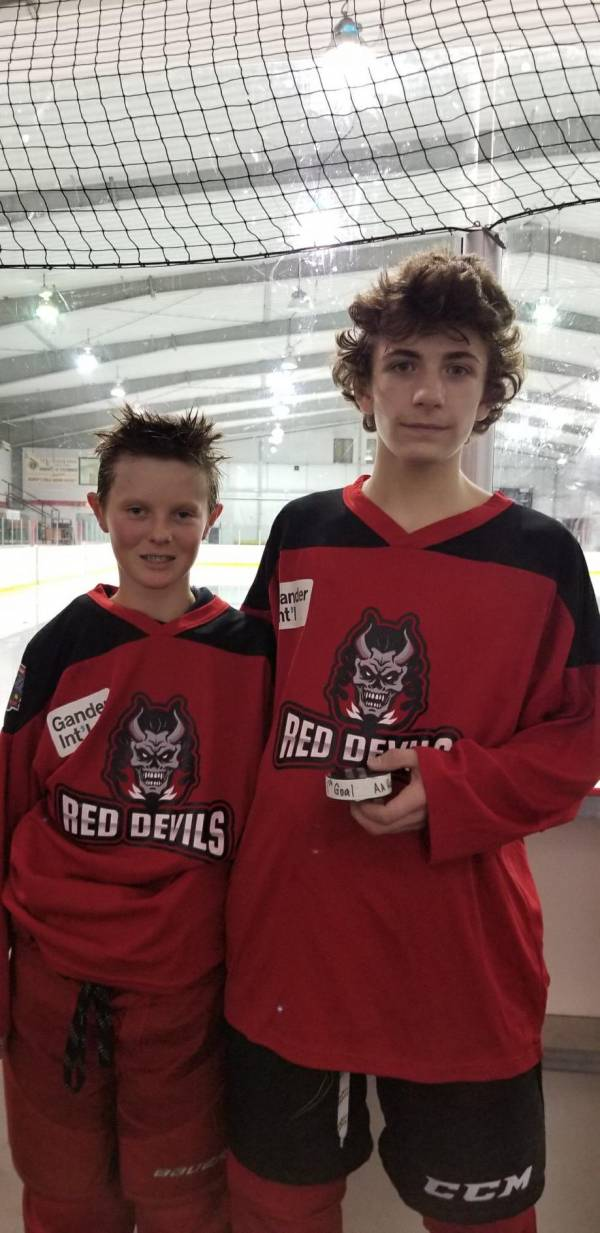 Central Bantam Red Devils First Goal
