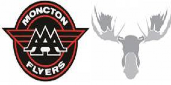 MONCTON FLYERS DEFEAT MOOSE IN HOME OPENER - CAM WHITE SCORES TWICE