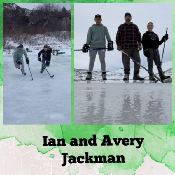 Ian and Avery Jackman