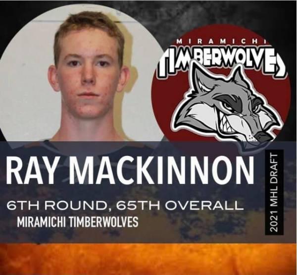 Ray MacKinnon joins fellow defenseman Ryan Hayes