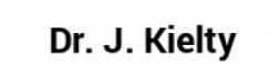 Dr. J. Kielty