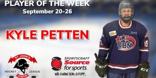 Stars' Petten selected as Sportscraft Source for Sports...