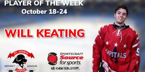 Capitals' Keating Selected as Sportscraft Source for...