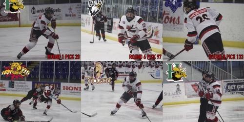 6 Weeks U18 Majors Selected In The 2021 QMJHL Entry Draft