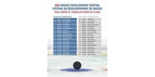 2021 U15 Hockey Development Festival