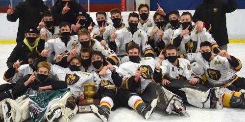 Charlottetown Knights sweep Kensington Wild to win the...