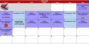 Weeks U18 Majors Release Phase 2 Training Camp Schedule