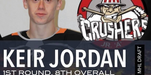 Pictou County Weeks Junior A Crushers select defenseman...