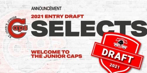 Junior Caps Entry Draft Picks